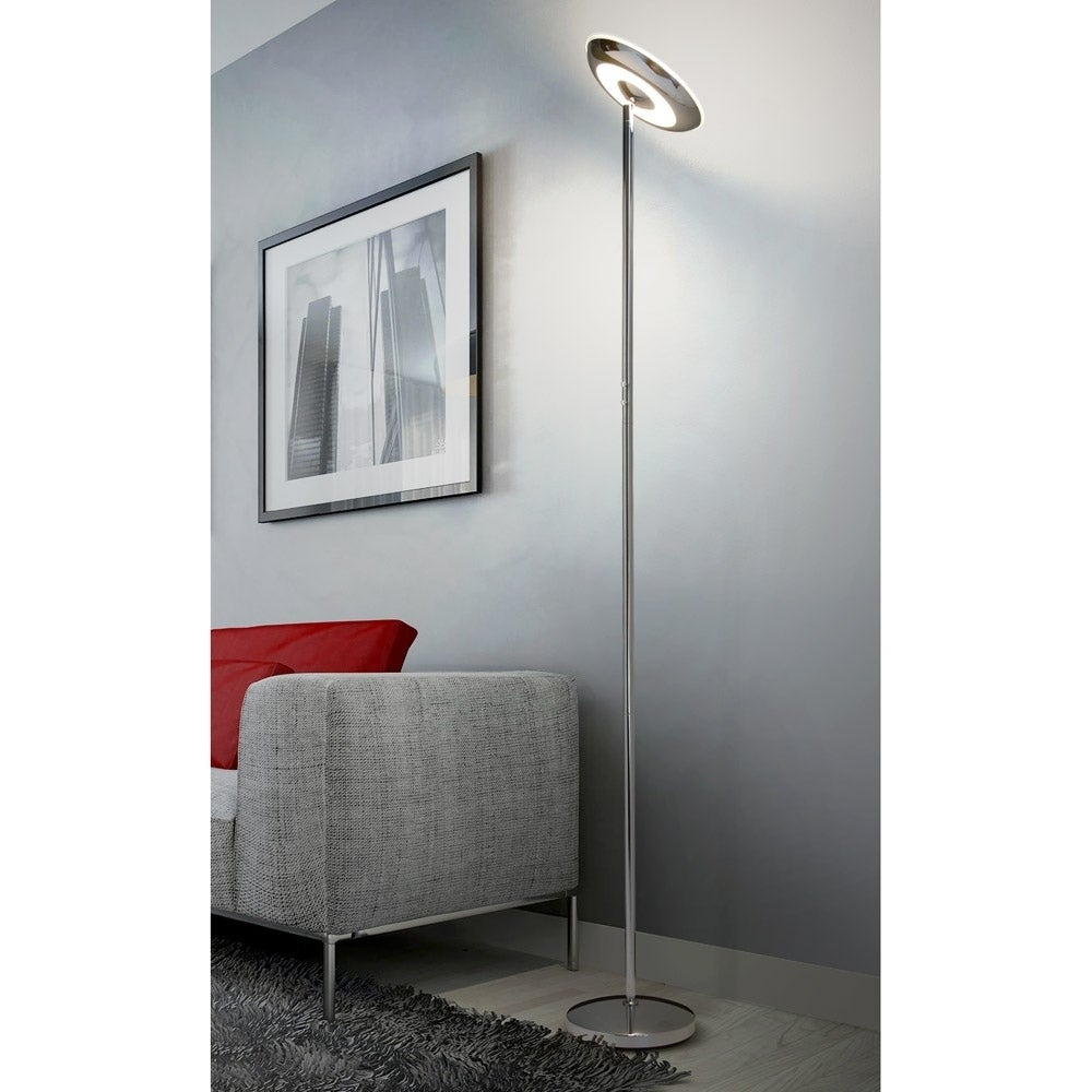 UFO 19W High Bright Up and Down Dimmable LED Torchiere Floor Lamp