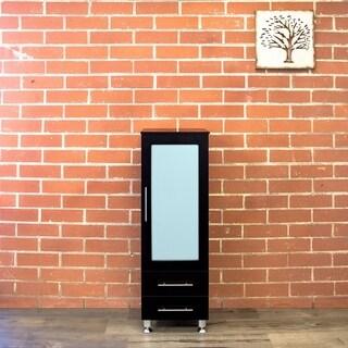 "Pearl 15.7"" W x 47.7"" H Modern Side Cabinet"