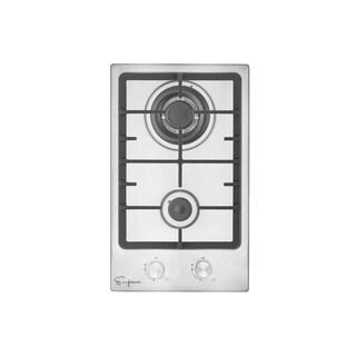 """Empava 12"""" 2 Italy Sabaf Burners Stove Top Gas Cooktop EMPV-12GC010"""
