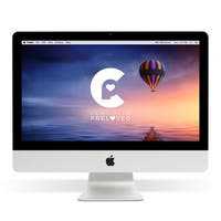 Apple MC978LL/A iMac 21.5-inch DCi3 3.1 GHz All-in-one Desktop Computer - Certified Preloved