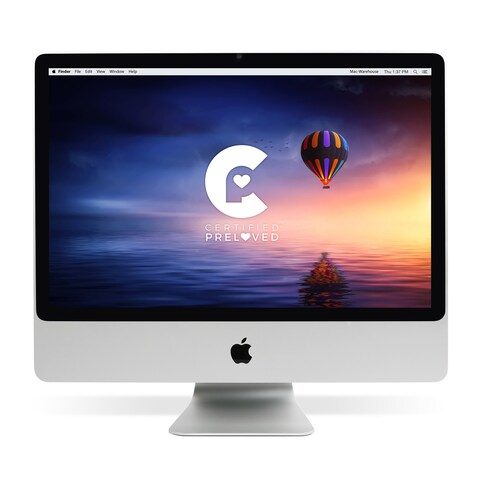 Apple MA878LL/A 24-inch iMac Core-2 Duo 2.4 GHz (Certified Preloved)