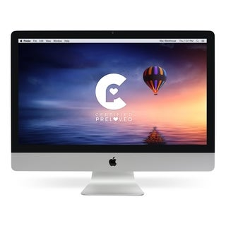 Apple MB953LL/A 27-inch iMac Quad-Core i5 2.66 GHz - Refurbished by Overstock 1tb hdd - 4 GB