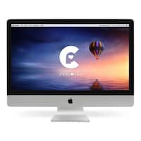 Apple iMac 27-inch QCi5 3.4 GHz All-in-one Desktop Computer ME089LL/A - Certified Preloved