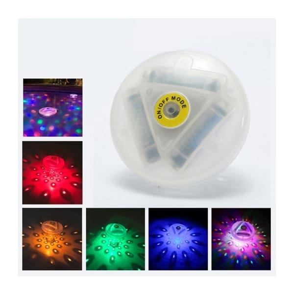 Floating Underwater RGB LED Disco Light Glow Show Swimming Pool