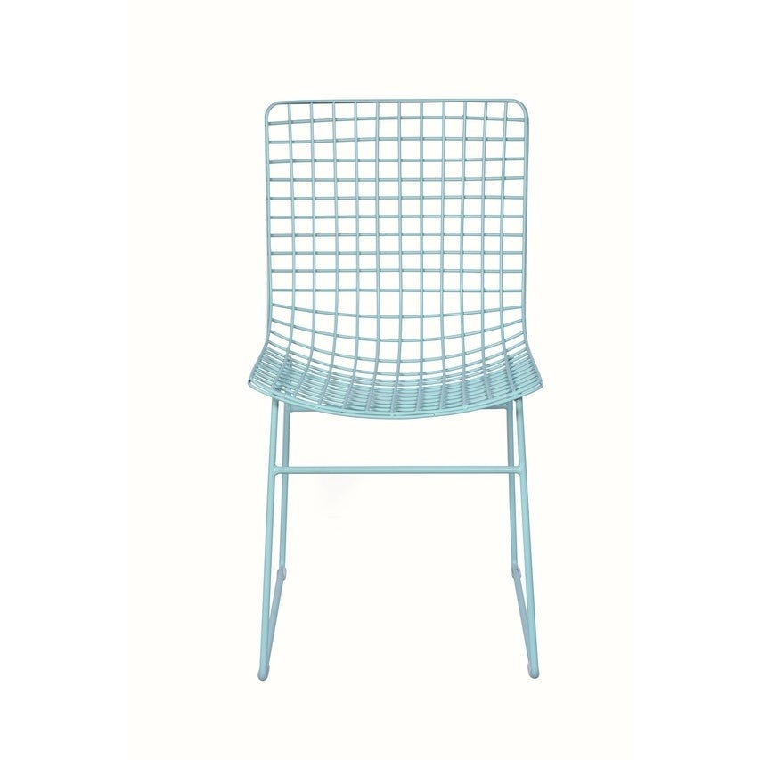 Mid Century Dining Chair Ocean Green