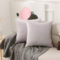 Decorative Throw Pillow Covers Lavender