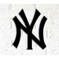 Decorative Metal Wall Art - New York Yankees