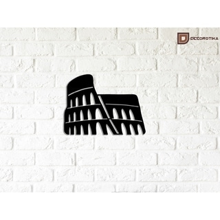 Decorative Metal Wall Art - Colosseum