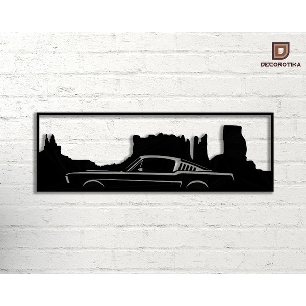 Decorative Metal Wall Art - Monument Valley