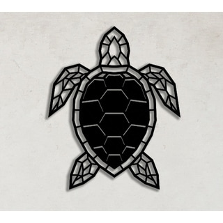 Decorative Metal Wall Art - Turtle