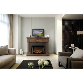 Napoleon The Braxton Mantel Electric Fireplace Package with Media Center and Remote Control