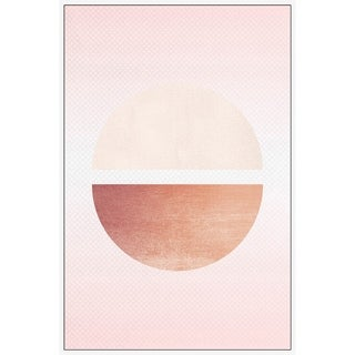 Marmont Hill - Handmade Lune Decroissante Floater Framed Print on Canvas