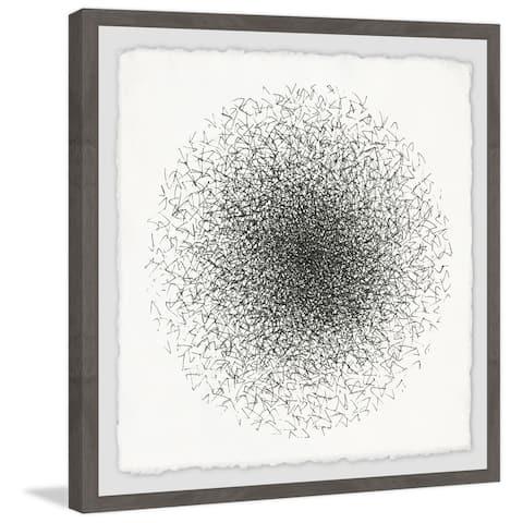 Marmont Hill - Handmade Black Sands Framed Print