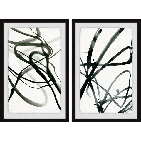 Toxic Lines Diptych