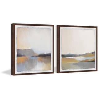 Marmont Hill - Handmade Gray Dunes Diptych