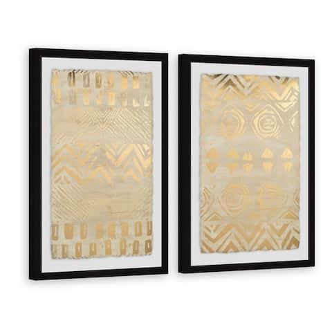 Marmont Hill - Handmade Pattern Bazaar II Diptych