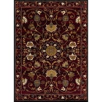 Mod-Arte Crown, CR03, Traditional Oriental Floral Design Area Rug