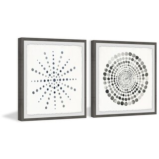 Dots Portal Diptych - Multi-color