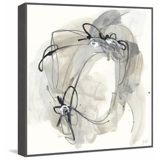 Marmont Hill - Handmade Monochrome Diaspora III Floater Framed Print on Canvas
