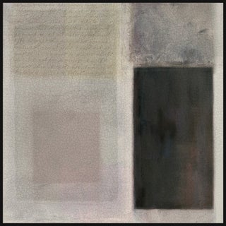 Marmont Hill - Handmade Muted Hues I Floater Framed Print on Canvas