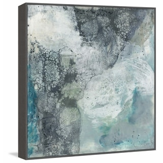 Marmont Hill - Handmade Sea Lace II Floater Framed Print on Canvas