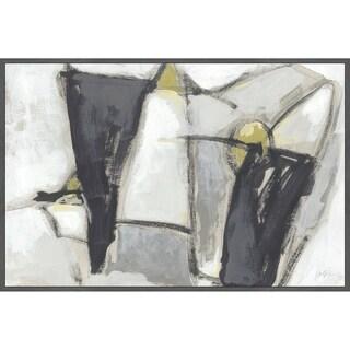 Marmont Hill - Handmade Locus IV Floater Framed Print on Canvas