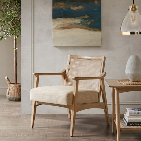 Carson Carrington Saue Light Brown Accent Chair