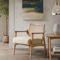 "INK+IVY Kelly Light Brown Accent Chair - 25""w x 27.75""d x 30.5""h"