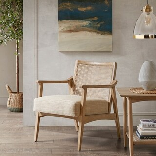 INK+IVY Kelly Light Brown Lounge Chair