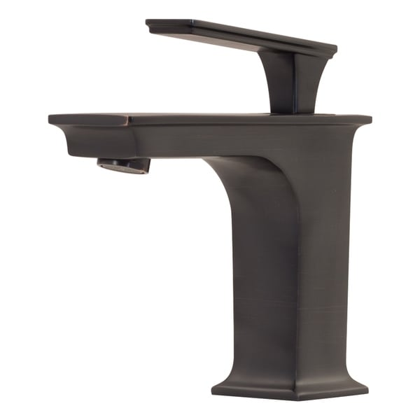 Novatto EVA Single Lever Lavatory Faucet in Oil Rubbed Bronze - Free ...