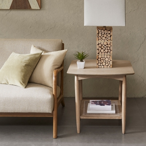 INK+IVY Kelly Light Brown End Table