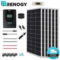 Renogy 600W 24V Mono Solar Panel Premium Kit Off Grid Rover 40A MPPT Controller