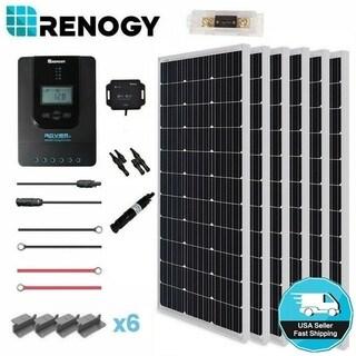 Renogy 600W 24V Mono Solar Panel Premium Kit Off Grid Rover 40A MPPT Controller