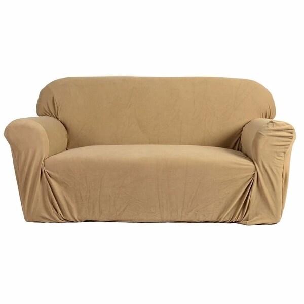 Bon Stretch Slipcover 3 Seat Sofa Cover Beige