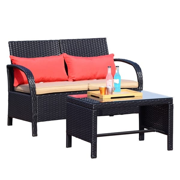 Loveseat Sofa Furniture Bistro Set