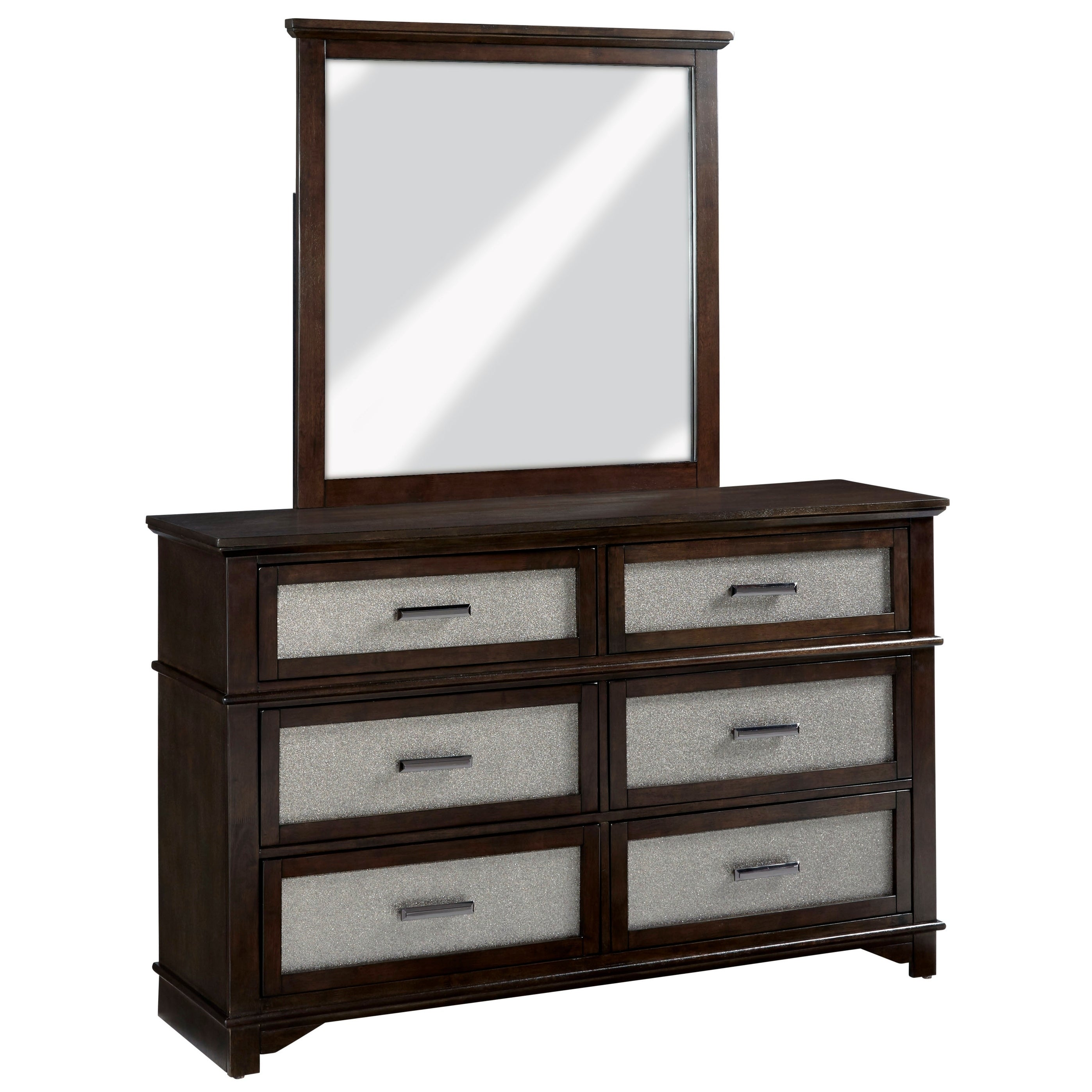 Drawer Dresser & Mirror