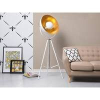 Industrial Floor Lamp White THAMES II