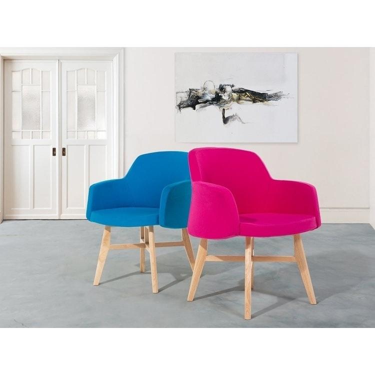 Upholstered Armchair - Tub Chair - Living Room Chair - Club Chair -  Blue - YSTAD