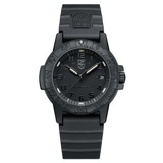 Luminox Men's 0301.BO Sea Turtle Black Rubber Bracelet Watch