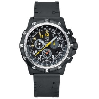 Luminox Men's 8842.MI Recon Team Leader Chrono Black Rubber Strap Watch