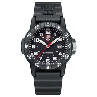 Luminox Men'sLUM Sea Turtle Black Rubber Bracelet Watch