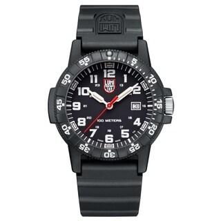 Luminox Men's 0321LUM Sea Turtle Black Rubber Bracelet Watch - N/A
