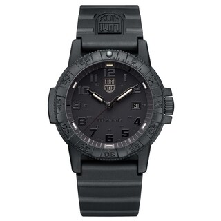 Link to Luminox Men's 0321.BO Sea Turtle Black-out Rubber Bracelet Watch Similar Items in Men's Watches