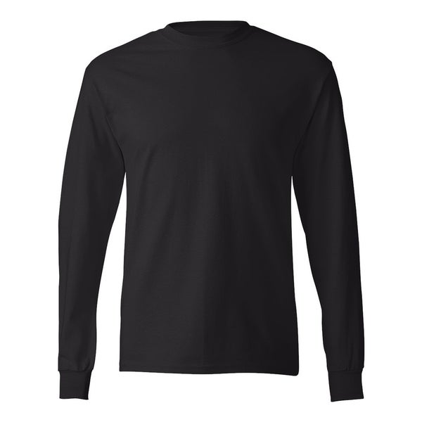 936c6579 Shop Hanes mens 6.1 oz. Tagless® ComfortSoft® Long-Sleeve T-Shirt (5586) -  On Sale - Free Shipping On Orders Over $45 - Overstock - 22496030