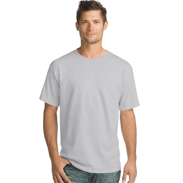 Hanes Mens 5.2 Oz. ComfortSoft® Cotton T-Shirt (5280) by  Purchase