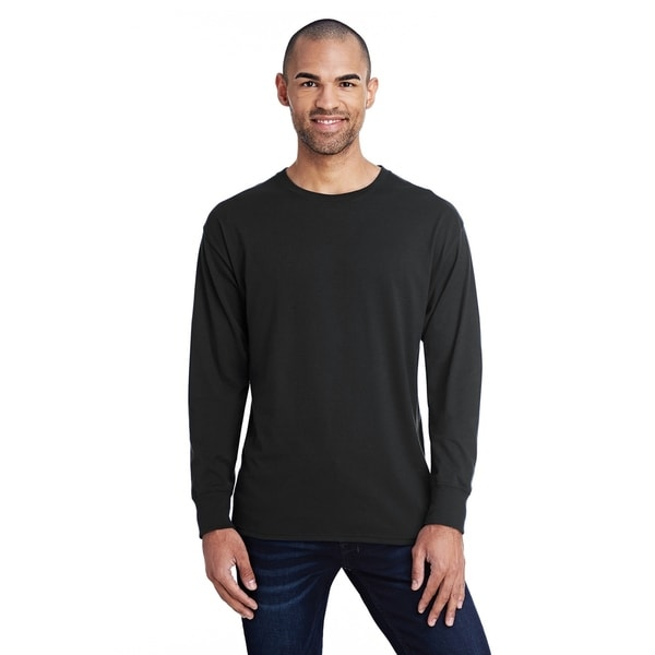 Hanes mens 60/40 X-Temp Long Sleeve T-Shirt (42L0)