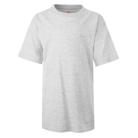 Hanes mens 100% Ringspun Cotton nano-T? T-Shirt (498Y)