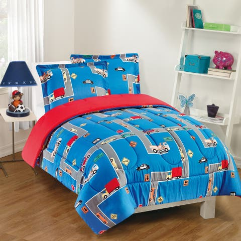 Gizmo Kids City Streets Comforter Set
