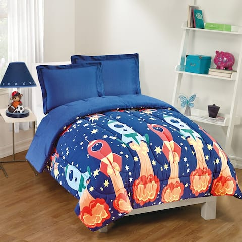 Gizmo Kids? Blast Off Comforter Set