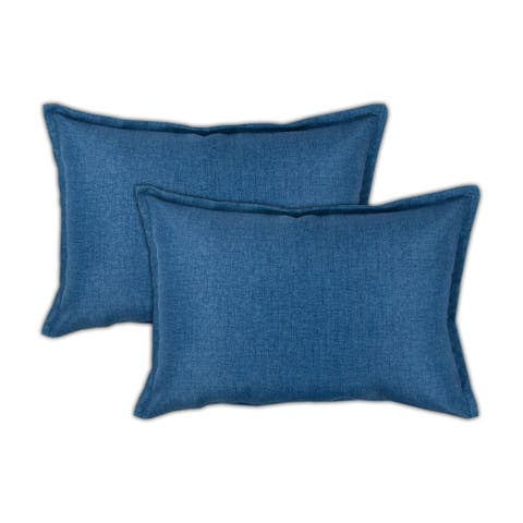 Sherry Kline Seaside Boudoir Outdoor Pillows (Set of 2) - 13wx19lx5h